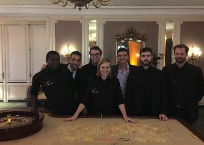 Soirée Casino au Beau Rivage Genève