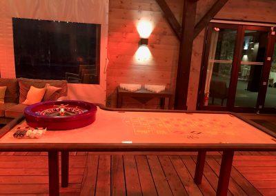 Anniversaire «Casino Royal» au Chalet du Golf à Evian